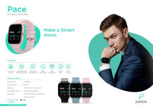 PEBBLE-Pace Fitness Tracker
