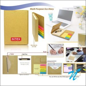 Eco Sticky Note Pad with Ball Pen- NIPCH - 806