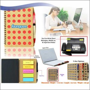 Eco Friendly Notebook With Ball Pen-  NIPCH - 814