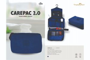 Carepac 2.0 - Travel Toiletry Pouch