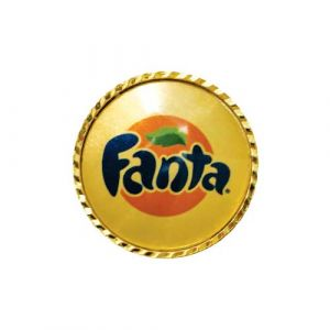 LAPEL PIN WITH CLIP FANTA (CDC - 26)