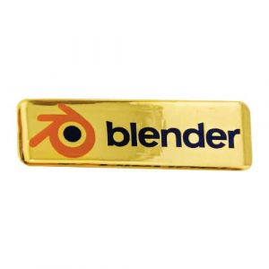 BLENDER-NAME-BADGE (CDE - 51)