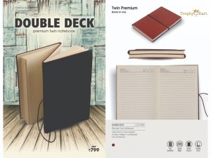 Double Deck Note Books