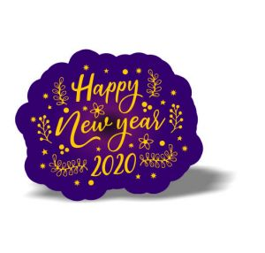 New year Magnet 9
