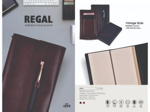 Regal - Vintage Style Refillable Notebooks