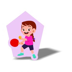 Table Tennis Magnet 10