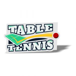 Table Tennis Magnet 3