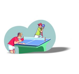 Table Tennis Magnet 5