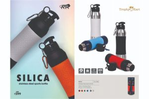 UG-DB53 Silica Stainless Steel Bottle with Silicon Grip (750ml)