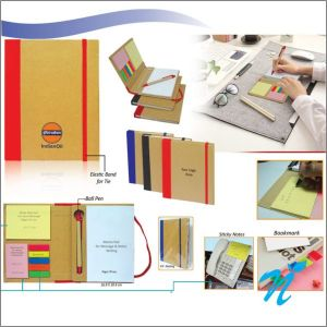 Eco Sticky Note Pad with Ball Pen-  NIPCH - 807