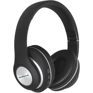 Ambrane WH-83 Over The Ear Bluetooth Headphones with Wireless FM, Aux & SD Card Support (Black)
