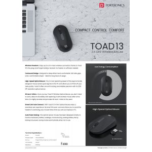 Portronics Toad 13 Wireless Mouse