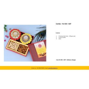 Combo – Rs 550 + GST