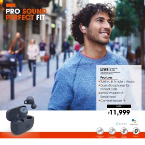 JBL-Live300(TWS)Truly wireless in ear headphones with smart ambient7p