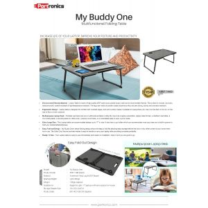 Portronics My Buddy One-Portable Laptop Stand