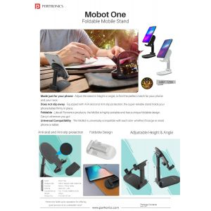 Portronics MoBot One-Foldable Mobile Stand
