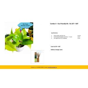Combo 3 – Eco Friendly Kit - Rs 337 + GST
