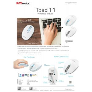 Portronics Toad 11-Wireless Optical Mouse