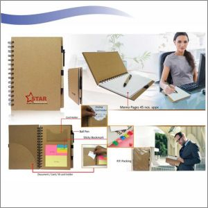 Multi Utility Eco Sticky Pad – Memo Pad with Ball Pen-NIPCH - 811