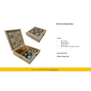 Dry Fruit in Wooden Box