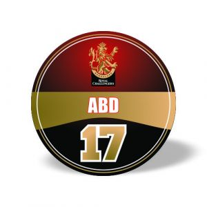 ABD Royal Challengers Magnet
