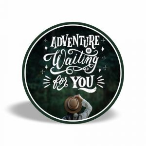 Adventure is waiting for you magnet