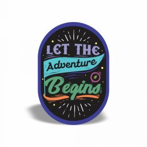Let the Adventure begin magnet