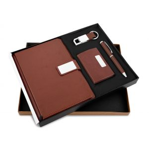 Mars 33 (4 in 1) - Pen, Diary,Card Holder & Keychain