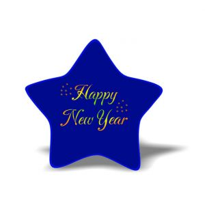New year Magnet 8