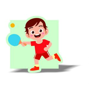 Table Tennis Magnet 9