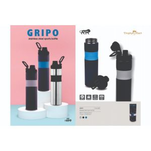 UG-DB47 Gripo Stainless Steel Bottle with Silicon Grip (850ml)